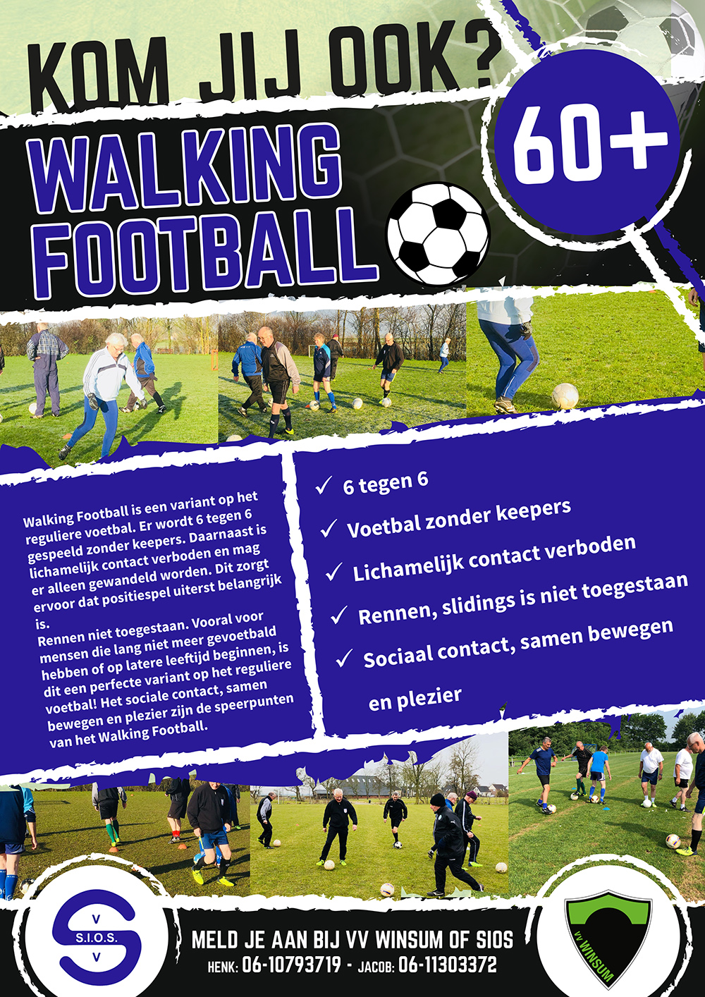 Poster Walking Football